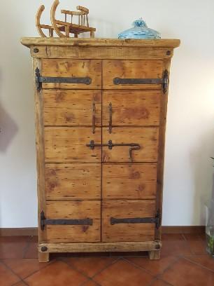 Mobili jury mobili realizzati in legno di recupero mobili rustici tirolesi oggettistica in - Recupero mobili ...